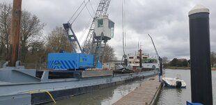 Baggerwerk 1e Jachthaven Dordrecht - Baggerwerk 1e Jachthaven Dordrecht